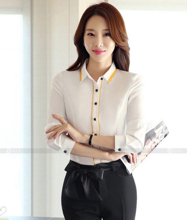 Dong Phuc Cong So Nu GS495 áo sơ mi nữ đồng phục công sở