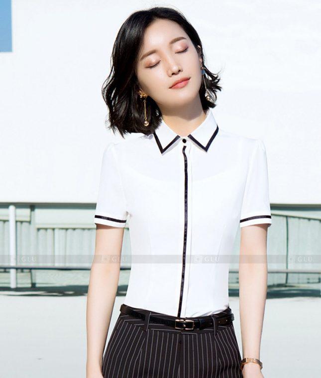 Dong Phuc Cong So Nu GS496 áo sơ mi nữ đồng phục công sở