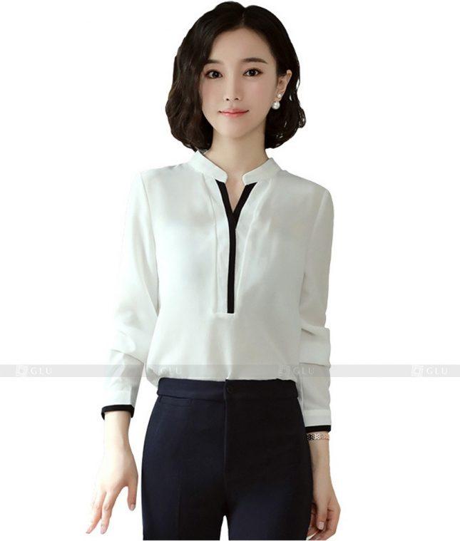 Dong Phuc Cong So Nu GS497 áo sơ mi nữ đồng phục công sở