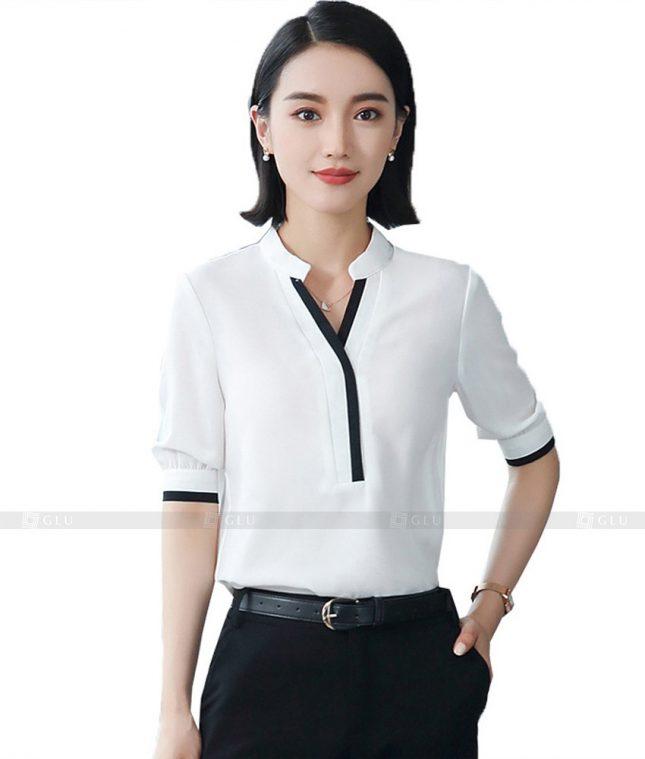 Dong Phuc Cong So Nu GS498 áo sơ mi nữ đồng phục công sở