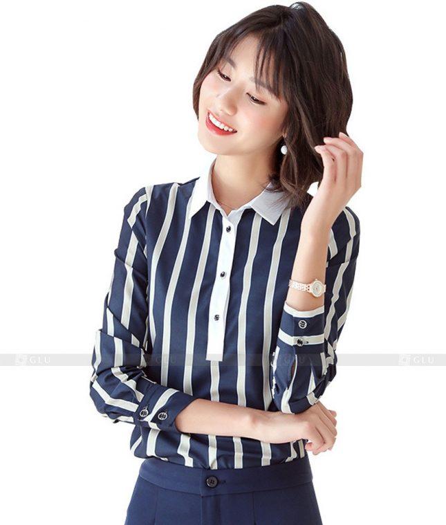 Dong Phuc Cong So Nu GS500 áo sơ mi nữ đồng phục công sở
