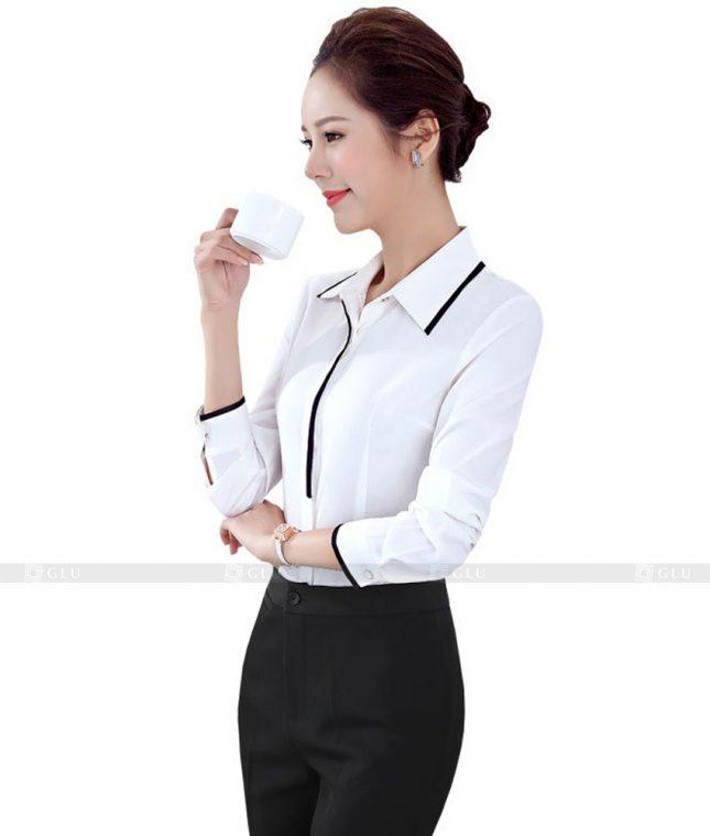 Dong Phuc Cong So Nu GS502 áo sơ mi nữ đồng phục công sở