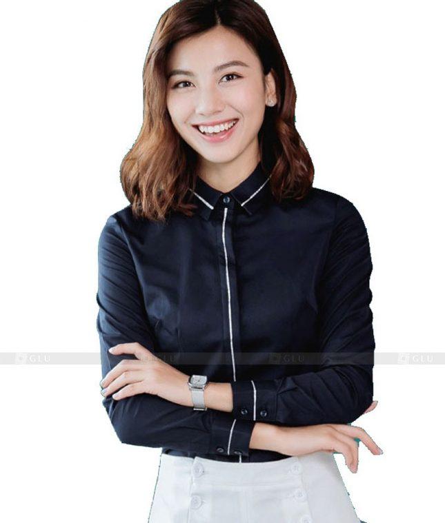 Dong Phuc Cong So Nu GS503 áo sơ mi nữ đồng phục công sở