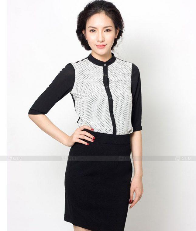 Dong Phuc Cong So Nu GS511 áo sơ mi nữ đồng phục công sở