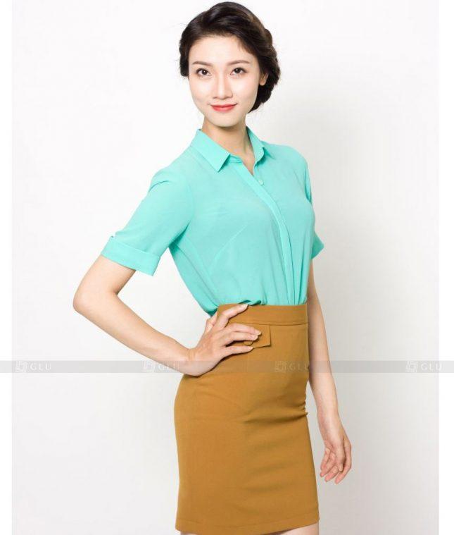 Dong Phuc Cong So Nu GS512 áo sơ mi nữ đồng phục công sở