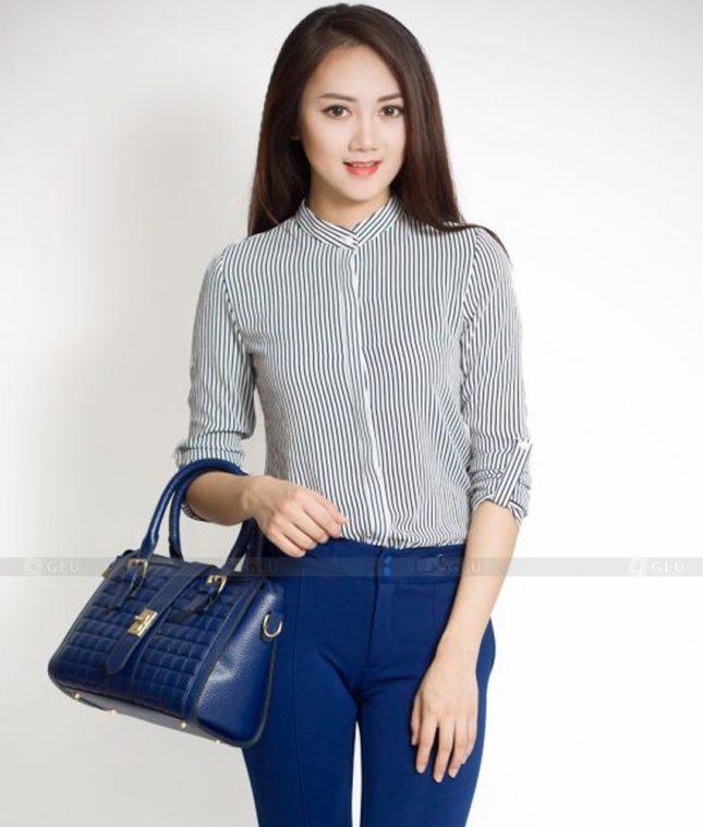 Dong Phuc Cong So Nu GS517 áo sơ mi nữ đồng phục công sở