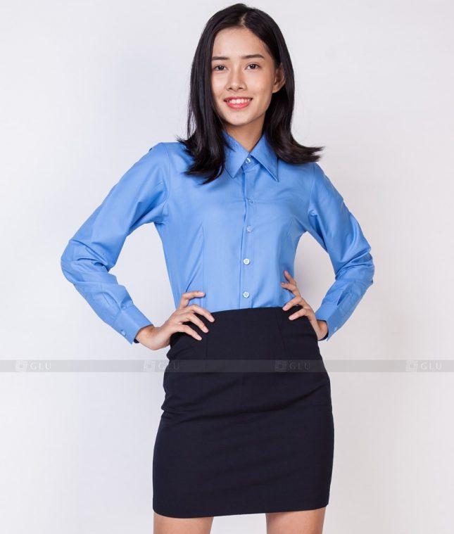 Dong Phuc Cong So Nu GS518 áo sơ mi nữ đồng phục công sở