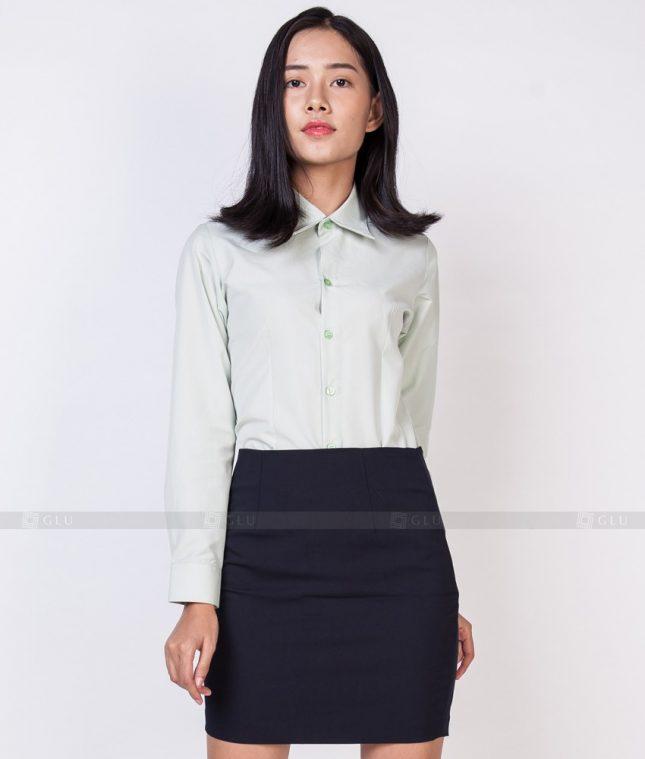 Dong Phuc Cong So Nu GS519 áo sơ mi nữ đồng phục công sở