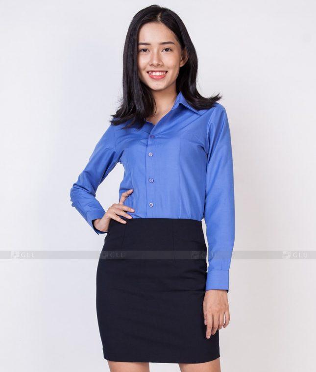 Dong Phuc Cong So Nu GS520 áo sơ mi nữ đồng phục công sở