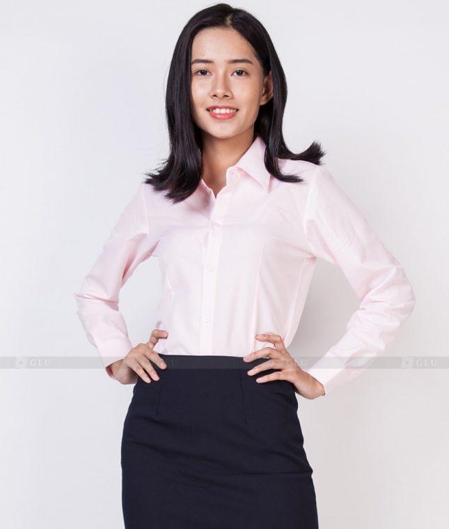 Dong Phuc Cong So Nu GS521 áo sơ mi nữ đồng phục công sở