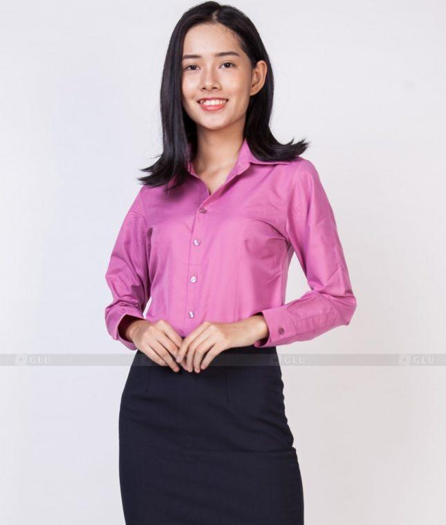 Dong Phuc Cong So Nu GS523 áo sơ mi nữ đồng phục công sở