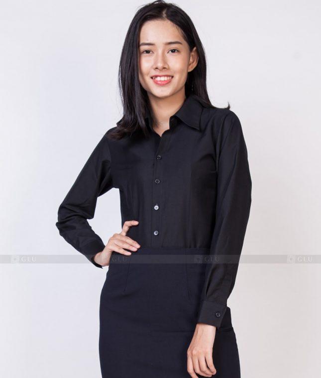 Dong Phuc Cong So Nu GS524 áo sơ mi nữ đồng phục công sở