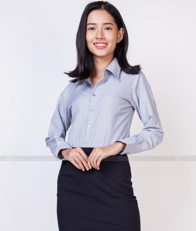 Dong Phuc Cong So Nu GS526 áo sơ mi nữ đồng phục công sở