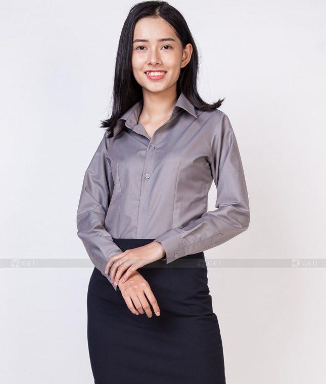 Dong Phuc Cong So Nu GS527 áo sơ mi nữ đồng phục công sở