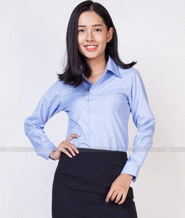 Dong Phuc Cong So Nu GS528 áo sơ mi nữ đồng phục công sở