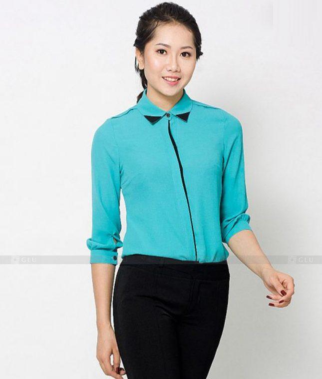 Dong Phuc Cong So Nu GS529 áo sơ mi nữ đồng phục công sở