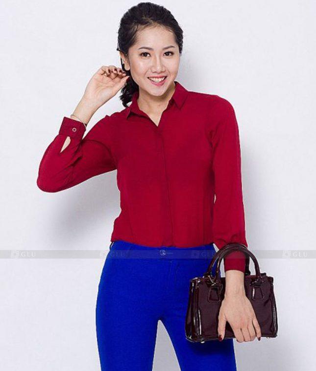 Dong Phuc Cong So Nu GS530 áo sơ mi nữ đồng phục công sở