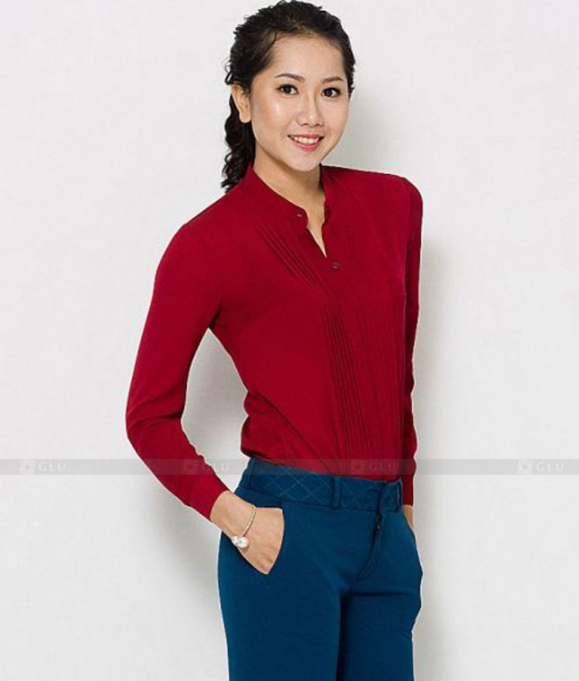 Dong Phuc Cong So Nu GS531 áo sơ mi nữ đồng phục công sở