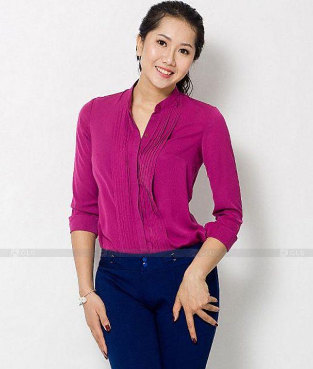 Dong Phuc Cong So Nu GS532 áo sơ mi nữ đồng phục công sở