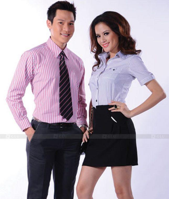Dong Phuc Cong So Nu GS536 áo sơ mi nữ đồng phục công sở