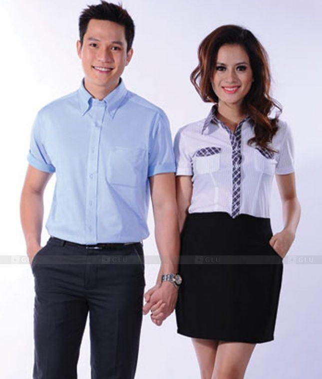 Dong Phuc Cong So Nu GS537 áo sơ mi nữ đồng phục công sở