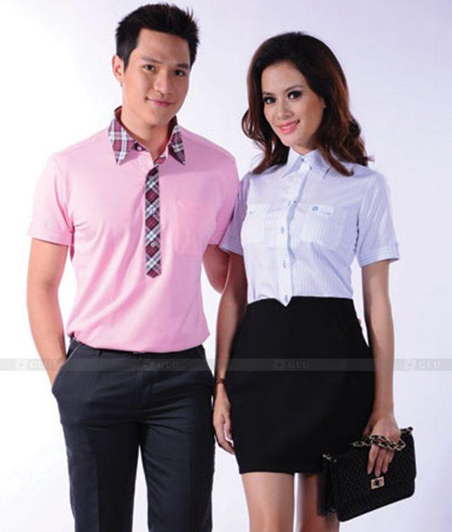 Dong Phuc Cong So Nu GS538 áo sơ mi nữ đồng phục công sở