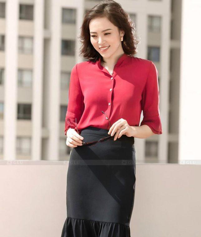 Dong Phuc Cong So Nu GS539 áo sơ mi nữ đồng phục công sở