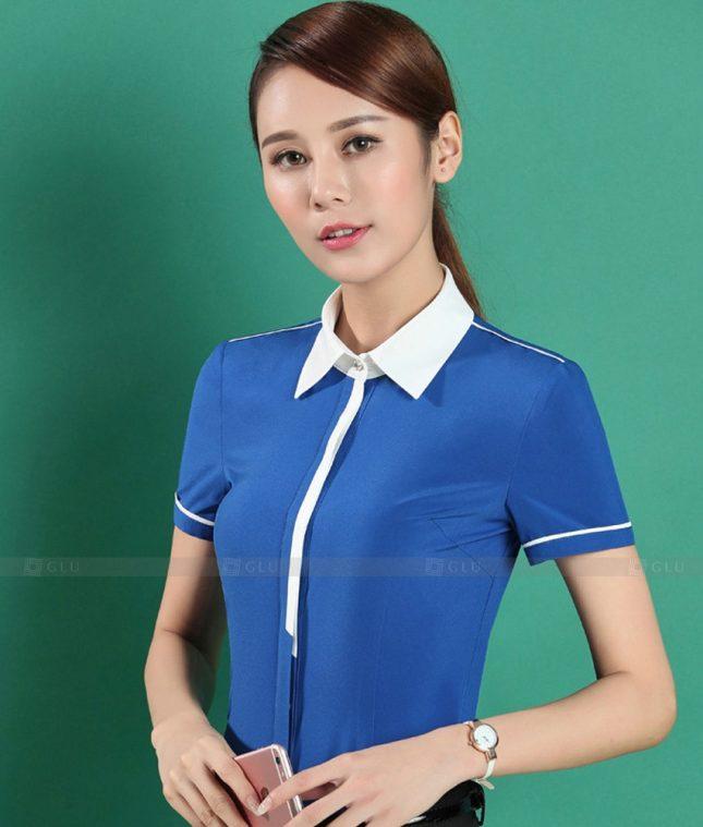 Dong Phuc Cong So Nu GS550 áo sơ mi nữ đồng phục công sở