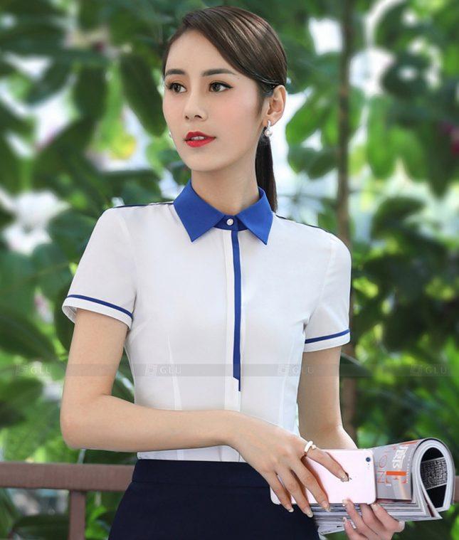 Dong Phuc Cong So Nu GS551 áo sơ mi nữ đồng phục công sở