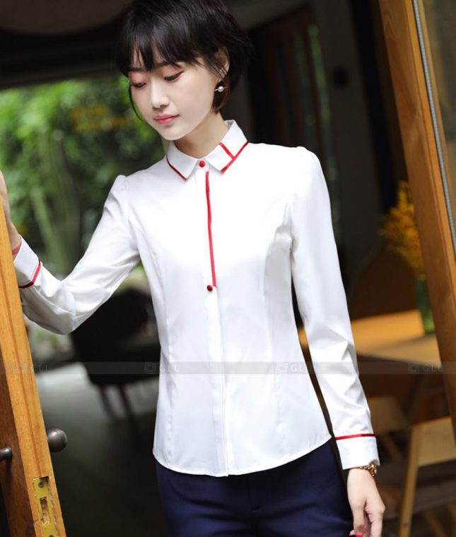 Dong Phuc Cong So Nu GS553 áo sơ mi nữ đồng phục công sở