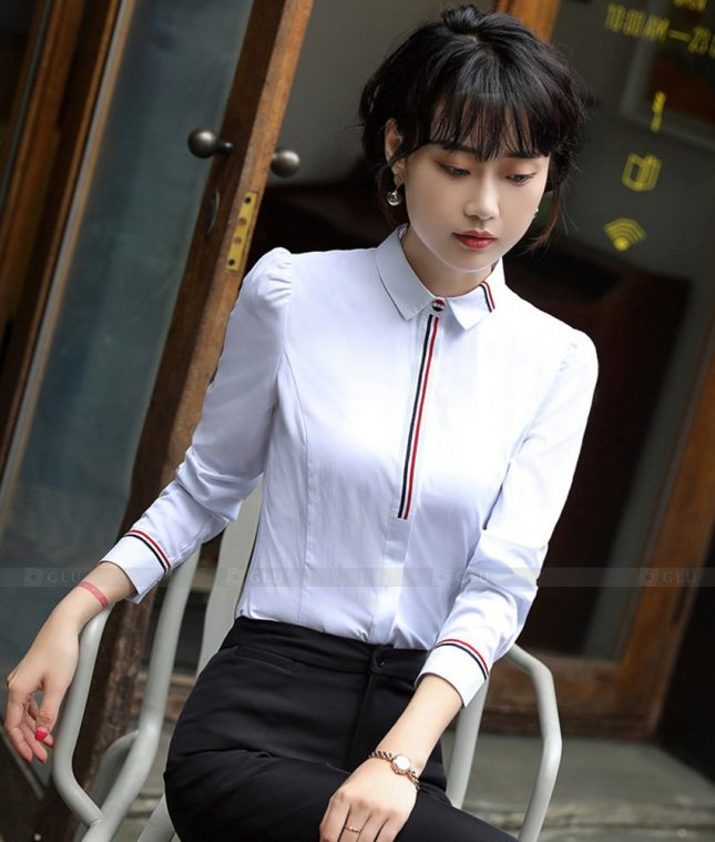 Dong Phuc Cong So Nu GS554 áo sơ mi nữ đồng phục công sở