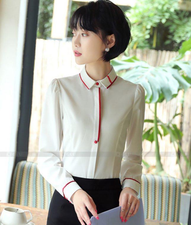 Dong Phuc Cong So Nu GS555 áo sơ mi nữ đồng phục công sở