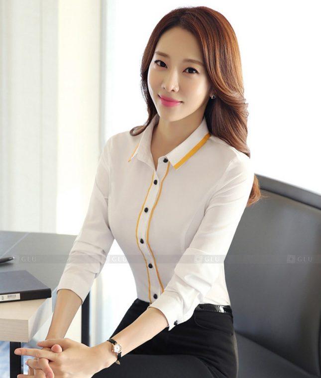 Dong Phuc Cong So Nu GS556 áo sơ mi nữ đồng phục công sở