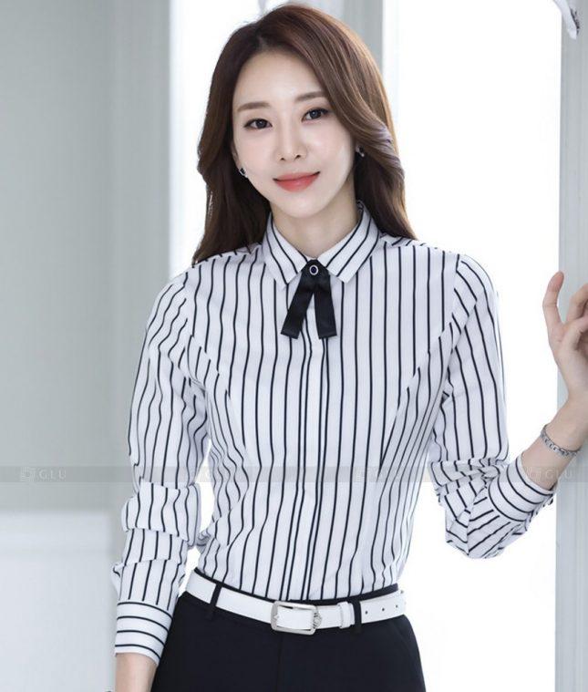 Dong Phuc Cong So Nu GS558 áo sơ mi nữ đồng phục công sở