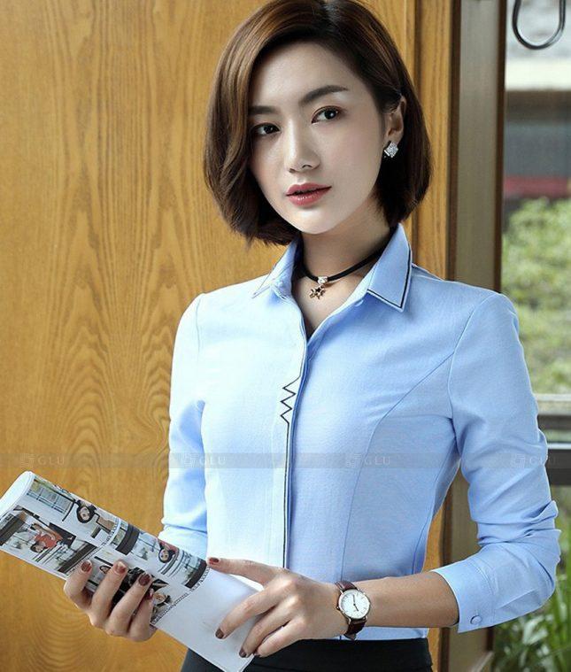 Dong Phuc Cong So Nu GS559 áo sơ mi nữ đồng phục công sở