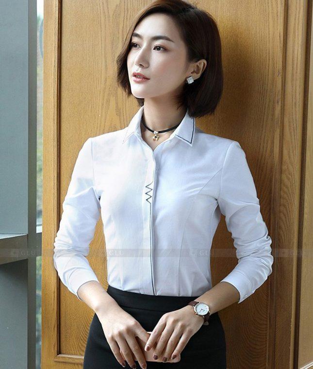 Dong Phuc Cong So Nu GS560 áo sơ mi nữ đồng phục công sở