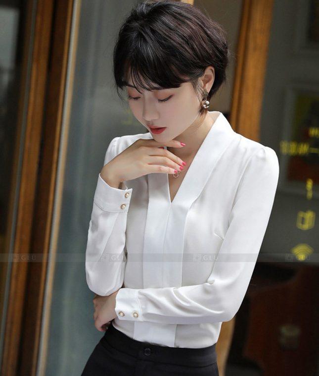 Dong Phuc Cong So Nu GS561 áo sơ mi nữ đồng phục công sở