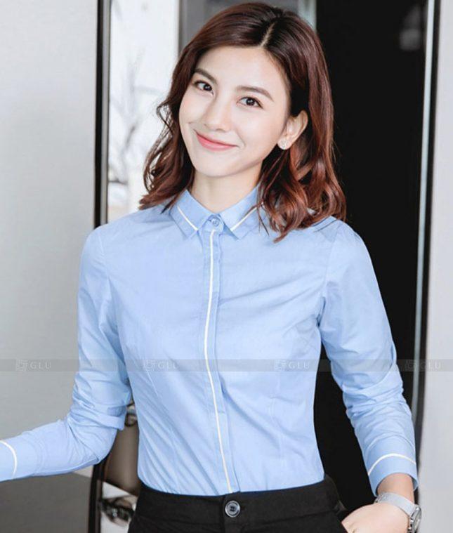 Dong Phuc Cong So Nu GS562 áo sơ mi nữ đồng phục công sở