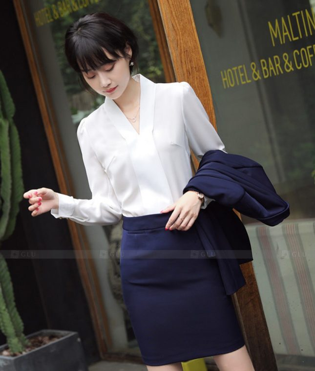 Dong Phuc Cong So Nu GS563 áo sơ mi nữ đồng phục công sở