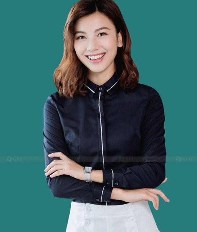 Dong Phuc Cong So Nu GS564 áo sơ mi nữ đồng phục công sở