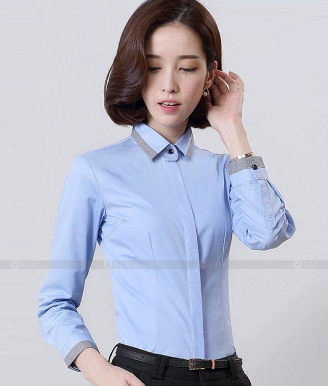 Dong Phuc Cong So Nu GS566 áo sơ mi nữ đồng phục công sở