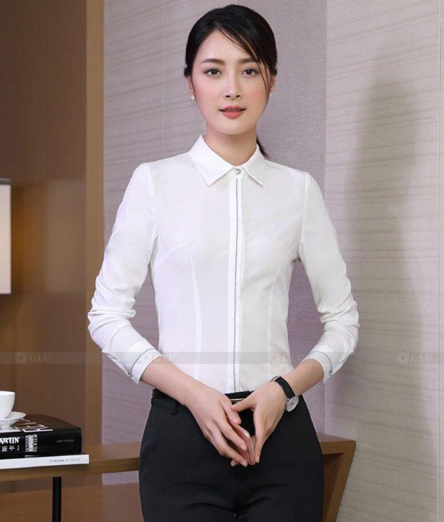 Dong Phuc Cong So Nu GS568 áo sơ mi nữ đồng phục công sở