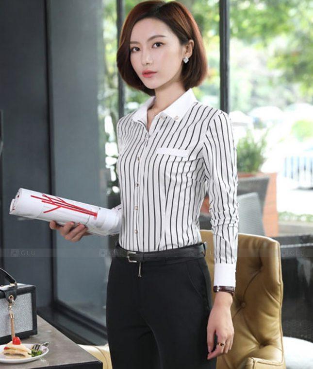 Dong Phuc Cong So Nu GS569 áo sơ mi nữ đồng phục công sở