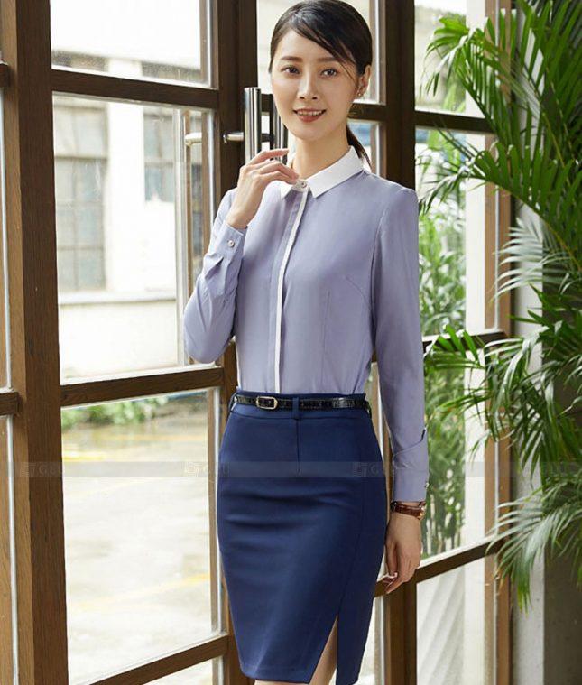 Dong Phuc Cong So Nu GS570 áo sơ mi nữ đồng phục công sở