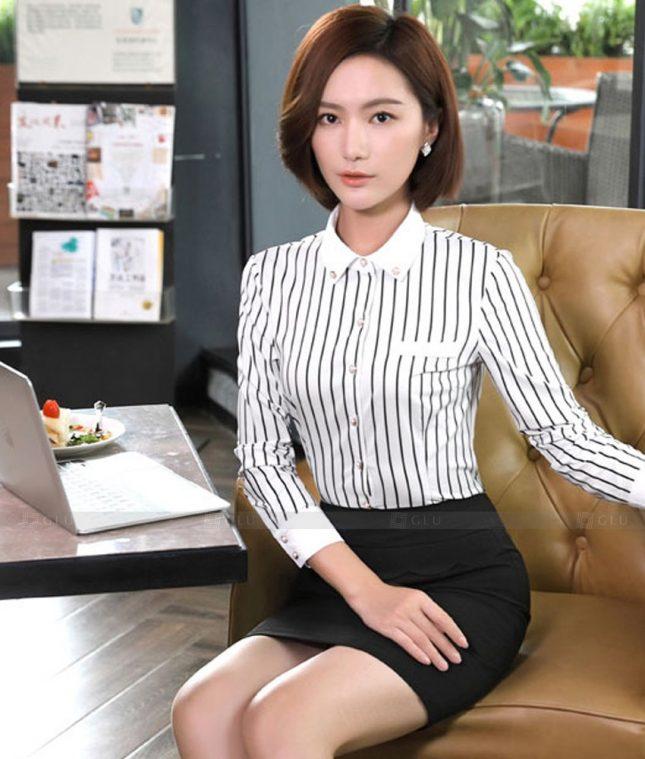 Dong Phuc Cong So Nu GS571 áo sơ mi nữ đồng phục công sở