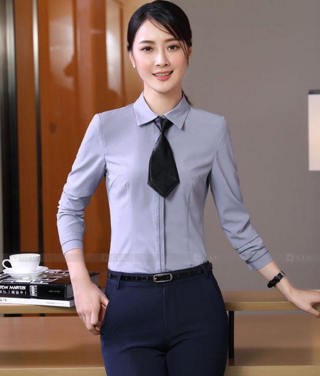Dong Phuc Cong So Nu GS572 áo sơ mi nữ đồng phục công sở