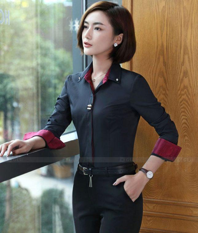 Dong Phuc Cong So Nu GS573 áo sơ mi nữ đồng phục công sở