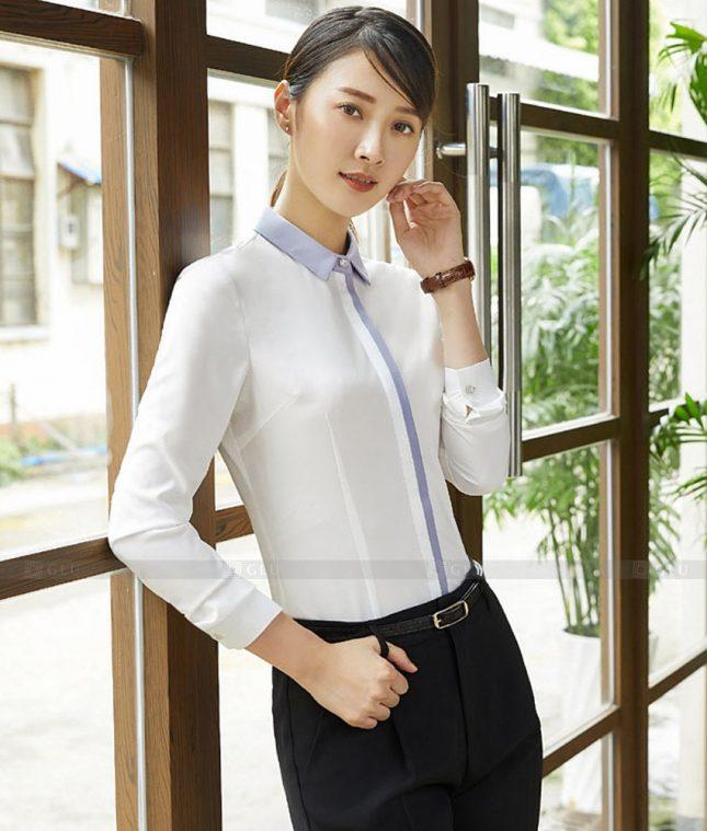 Dong Phuc Cong So Nu GS574 áo sơ mi nữ đồng phục công sở