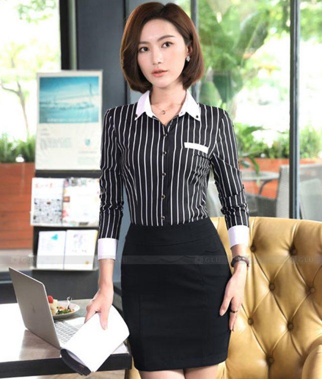 Dong Phuc Cong So Nu GS575 áo sơ mi nữ đồng phục công sở