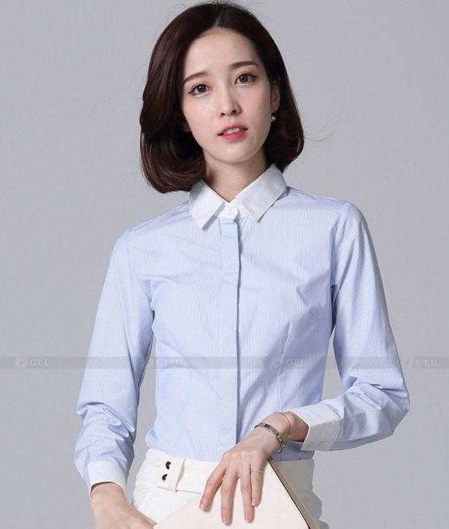 Dong Phuc Cong So Nu GS577 áo sơ mi nữ đồng phục công sở